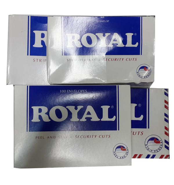 AMPLOP PUTIH - ROYAL